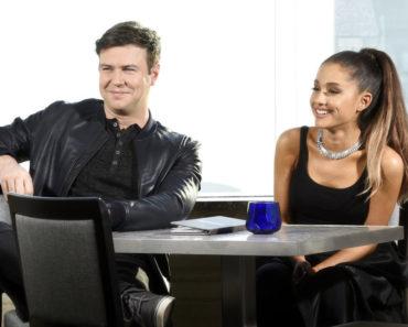 "SATURDAY NIGHT LIVE -- ""Ariana Grande"" Episode 1698 -- Pictured: (l-r) Taran Killam and Ariana Grande on March 8, 2016 -- (Photo by: Dana Edelson/NBC)"