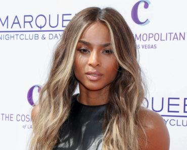 03/19/2016 - Ciara - Marquee Dayclub 2016 Season Grand Opening with Performance by Ciara - Arrivals - Marquee Dayclub at the Cosmopolitan of Las Vegas - Las Vegas, NV, USA - Keywords: 1/2 Length Shot, Vertical, Black and Orange Leather Skirt, Black Leather Sleeveless Blouse, Long Wavy Brown Hair, Brunette, Woman, Music, Ciara Princess Harris, American singer, songwriter, record producer, dancer, actress, fashion model, musician, Majestic, One Person, People, Arrival, Portrait, Photography, Arts Culture and Entertainment, Opening Event, Nevada Orientation: Portrait Face Count: 1 - False - Photo Credit: PRN / PRPhotos.com - Contact (1-866-551-7827) - Portrait Face Count: 1