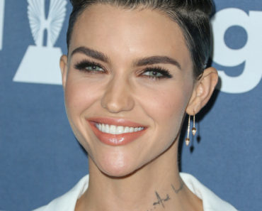 04/02/2016 - Ruby Rose - 27th Annual GLAAD Media Awards - Arrivals - The Beverly Hilton Hotel - Beverly Hills, CA, USA - Keywords: Vertical, People, Person, Arrival, Portrait, Photography, Arts Culture and Entertainment, Celebrity, Celebrities, Topix, Bestof, Gay & Lesbian Alliance Against Defamation, GLBT, LGBT community, equality, lesbian, gay, bisexual, and transgender, Los Angeles, California Orientation: Portrait Face Count: 1 - False - Photo Credit: PRPhotos.com - Contact (1-866-551-7827) - Portrait Face Count: 1