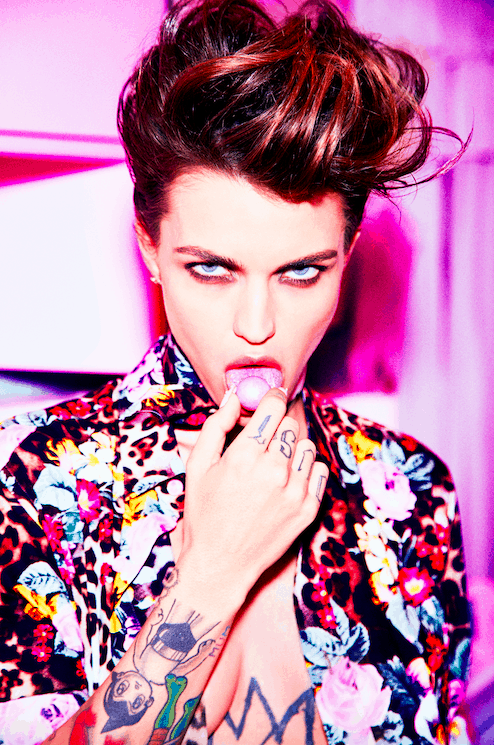 Ruby Rose Slays For Sexy Galore Mag Photo Spread