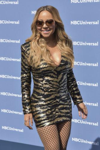 05/16/2016 - Mariah Carey - NBCUniversal 2016 Upfront Presentation - Arrivals - Rockefeller Center - New York City, NY, USA - Keywords: Arrivals, Upfront, Celebrities, NBC, Universal Orientation: Portrait Face Count: 1 - False - Photo Credit: Loredana Sangiuliano / PRPhotos.com - Contact (1-866-551-7827) - Portrait Face Count: 1