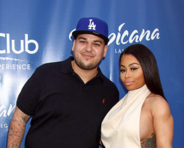Rob Kardashian and Blac Chyna Host 2016 Memorial Day Weekend at Sky Beach Club Pool in Las Vegas