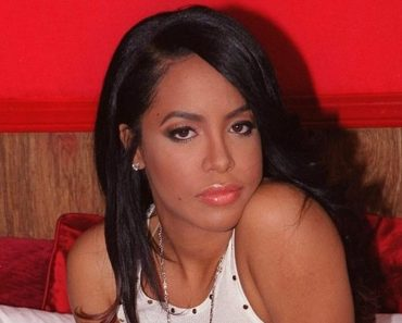 Aaliyah on the Set of Her Video Try Again