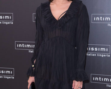 "Irina Shayk Attends ""Intimissimi"" 20 Years Anniversary at Italian Embassy"