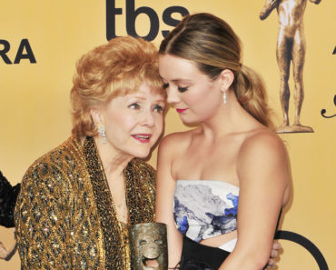 Debbie Reynolds and Billie Lourd--21st Annual Screen Actors Guild Awards