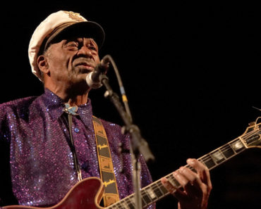 Chuck Berry in Concert at Rockhal in Luxembourg on November 19, 2007