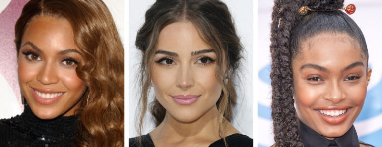 13 Celebrity-Inspired Makeup & Hair Looks For The Holidays